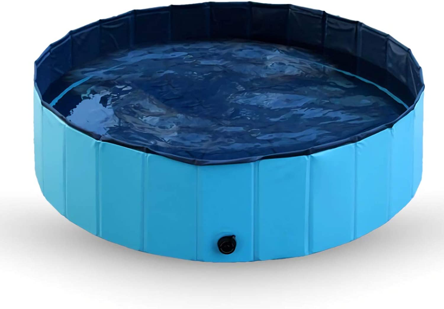 Pet Swimming Pool Portable Foldable Pool  Pet Pool Bathing Tub Kiddie Pool for Dogs Cats and Kids  bluee,S80×20cm