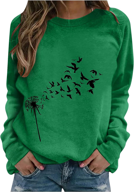felwors Teen Girls Hoodies, Women Girls Cute Printed Long Sleeve Sweaters Casual Loose Pullover Tops Sweatshirts