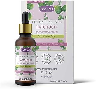 BONSOUL Patchouli Essential Oil (20ML)
