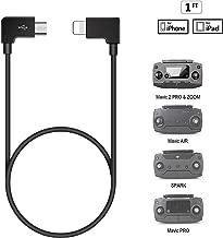 Lightning to USB Cable for DJI Spark Mavic Pro2 Zoom Mavic Air[1ft]