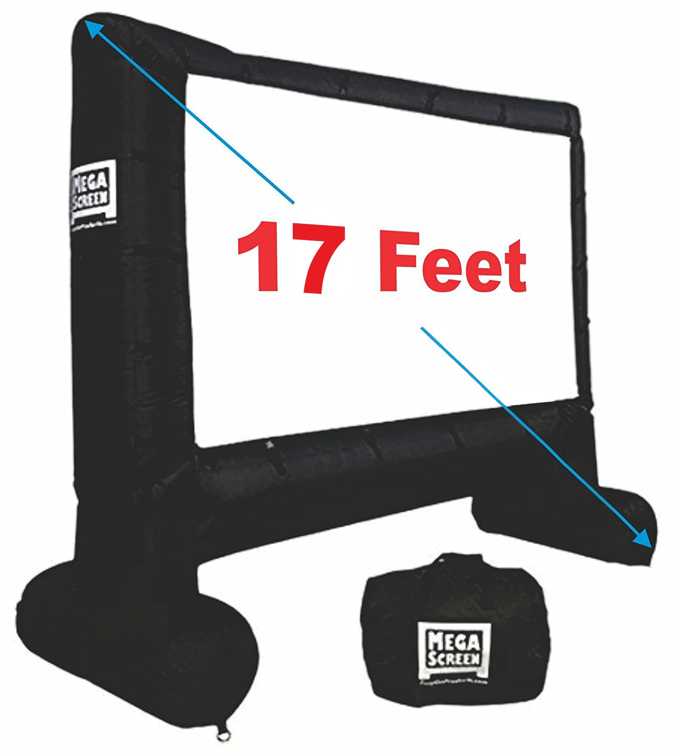 EasyGo Products Inflatable Movie Screen