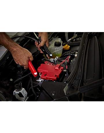 YDong 2 Paar-Kupfer Isolisierte Autobatterieklemmen Krokodilklemmen 50A Rot Schwarz