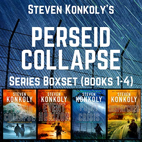 The Perseid Collapse Series Boxset cover art