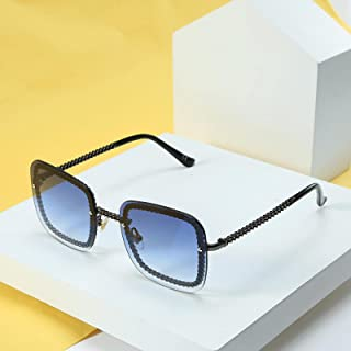 Xiaoxiang's sunglasses, men and women wear flat glasses, European and American street photography sunglasses and glasses