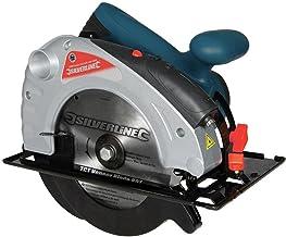 Silverline 285873 - Sierra circular con guía láser 1400 W (185 mm)