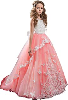 5fd22cb157 Amazon.com  coral flower girl dress -  50 to  100   Dresses ...