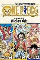 One Piece (Omnibus Edition), Vol. 21: Includes Vols. 61, 62 & 63 (21)