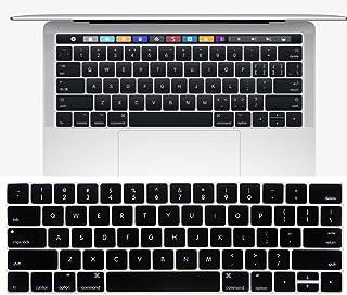 New MacBook Pro 13 15インチ 2016 / 2017 Touch Bar搭載モデル キーボードカバー【MaxKu】 キーボード防塵カバー USキーボード 英語配列 キースキン 多色選択可能 (対応モデル:MacBook Pr...
