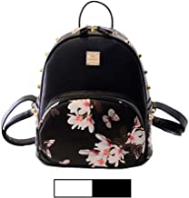 Mini Backpack for Girls Designer Rivet PU Leather Travel Bags Womens