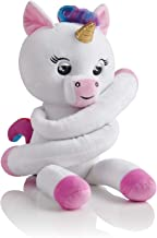 WowWee Fingerlings Hugs - Gigi (White) - Advanced Interactive Plush Baby Unicorn Pet