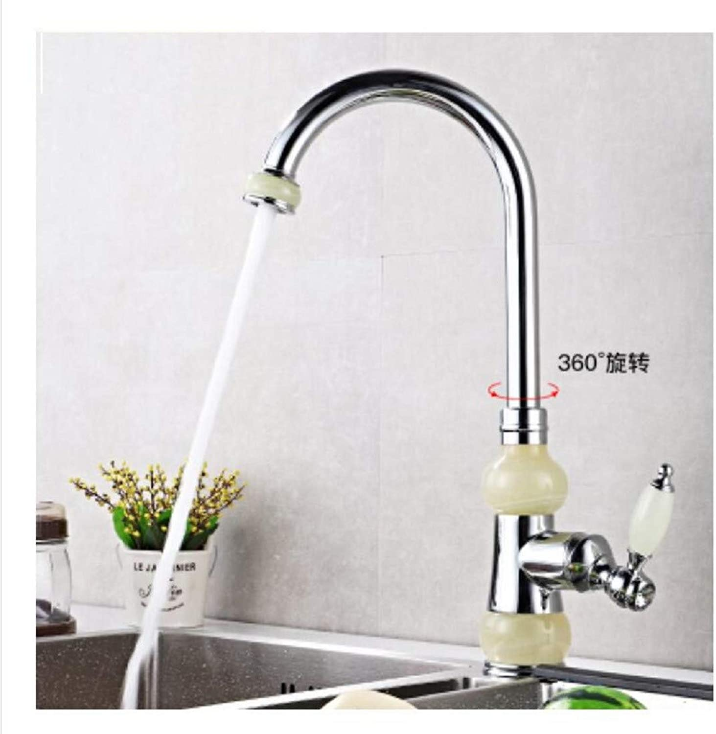 Kitchen Tap Antique Platform Hot and Cold Kitchen Sink Can redate golden Single Cold Water Faucet Kitchen Taps Kitchen Sink Mixer Taps Basin Tap