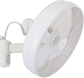 Beacon Lighting Breeze 41cm Wall Fan with Remote in White