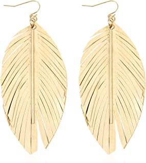 Best leather fringe earrings Reviews