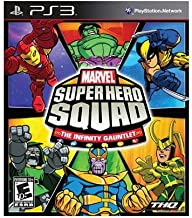 New Thq Marvel Super Hero Squad: The Infinity Gauntlet Action/Adventure Game Standard Playstation 3