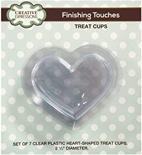 Creative Expressions Treat Cups - Heart