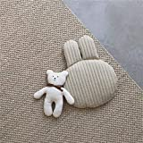plagiocefalia,cojín antivuelco,cuña antireflujo,almohada ortopedica,lactancia,almohada cabeza plana,cervicales,Almohada de bebé de dibujos animados lindo algodón encantador hecho con muñeca animal