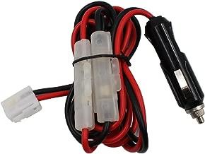 TENQ 1.5m Fused Dc Power Cable for Kenwood Icom Yaesu Ft-7800r Mobile Radio