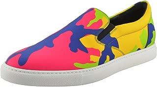 Dsquared D2 Men's Multi-Color Loafers Slip On Shoes