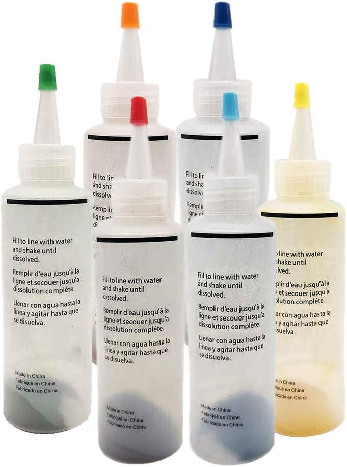 Tie-dye Dyes Kit 6 Bottles Paint f Muti-Color Import Permanent 2021 new
