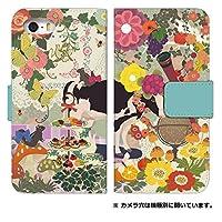 iPhone8 plus 手帳型 スマホケース [iPhone8Plus] ケース 手帳 0014-A. シカとフクロウ 8plus 手帳型ケース アイフォン エイトプラス 8プラス ケース カバー おしゃれ 人気