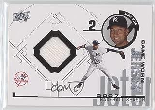 Derek Jeter (Baseball Card) 2008 Upper Deck - UD Game Jersey 1998 Throwback #98-DJ