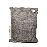 Purge Bag - Activated Bamboo Charcoal Air Purifying Bags, All Natural, Chemical and Fragrance Free - Odor Eliminator Dehumidifier Purifier Absorbs Moisture for Home, Kitchen, Closet, Car