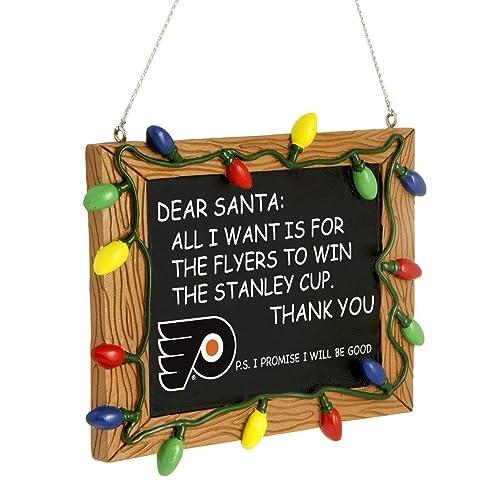 Philadelphia Flyers Official NHL 3 inch x 4 inch Chalkboard Sign Christmas  Ornament - Flyers Christmas Ornaments: Amazon.com
