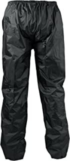 100% Waterproof Textile Motorcycle Biker Lady Man Over Trousers A-Pro Black XS