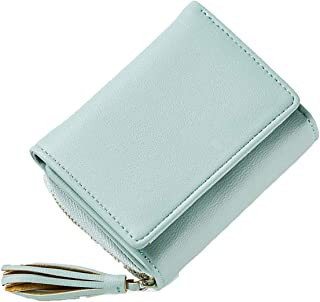 Tassel Pendant Design Small Clutch Wallets For Women Coin Purses Card Holders Invoice Pocket PU Leather