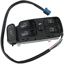 Electric Power Window Master Control Switch Console Front Driver Side for Mercedes-Benz W203 C-Class C230 C240 C280 C320 C350 C32 C55 AMG Replaces A2038210679 2038200110