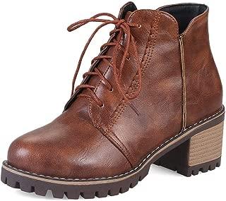 BalaMasa Womens ABS14034 Pu Boots