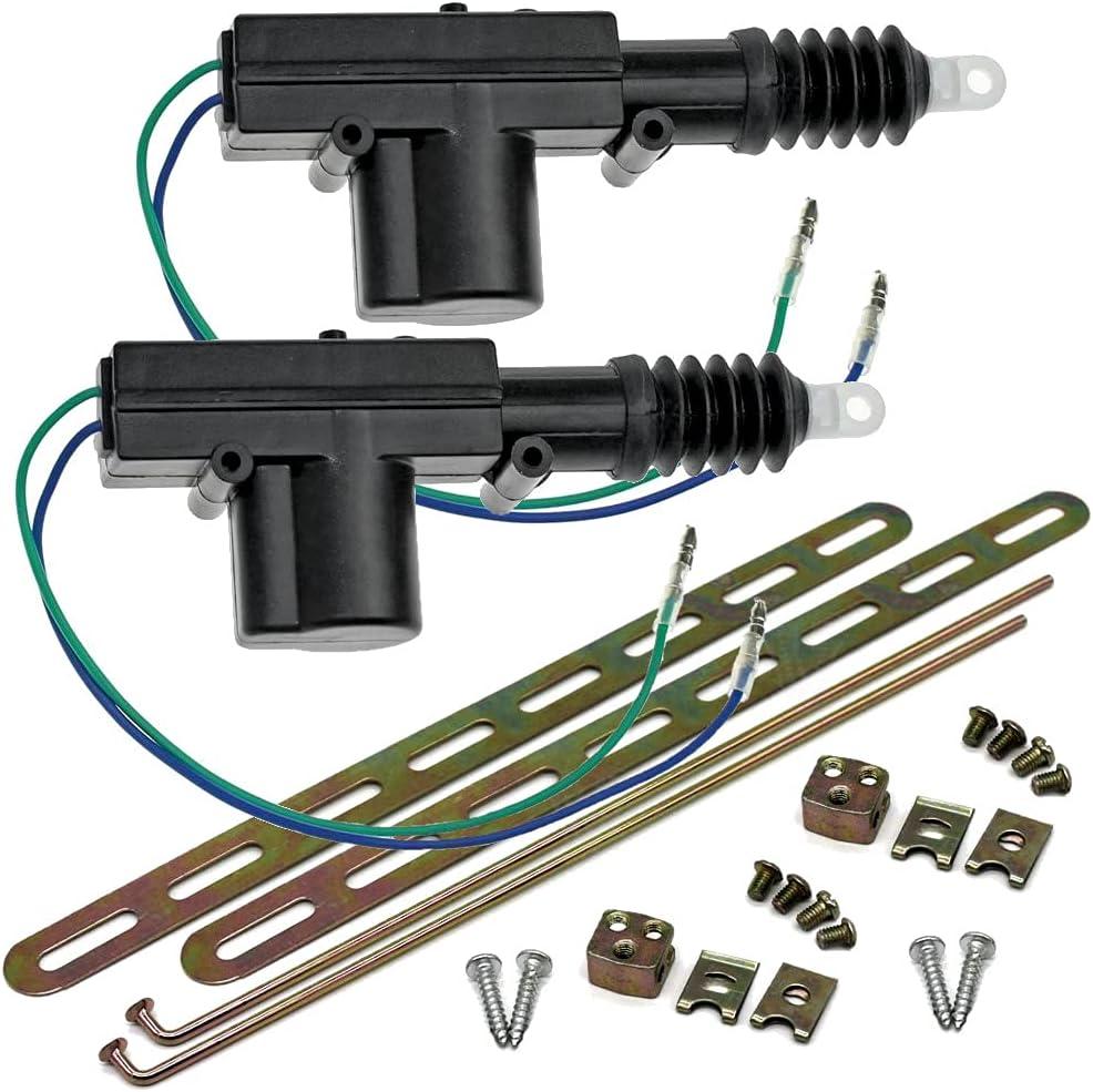2 Heavy Duty Super Special SALE held Power Overseas parallel import regular item Door Lock 12 for Actuator Car Volt Motor
