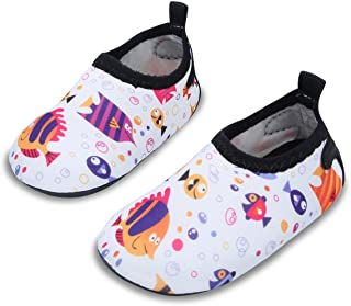 JIASUQI Baby Barefoot Swim Water Skin Shoes Calcetines Aqua