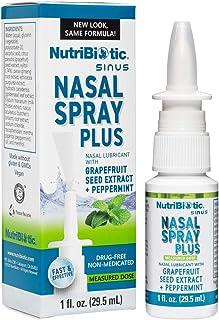 NutriBiotic, Nasal Spray Plus with Grapefruit Seed Extract, 1 fl oz (29.5 ml)