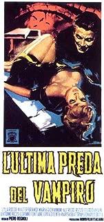 Pop Culture Graphics Curse of the Vampire Poster Movie Italian 11x17 Walter Brandi Lila Rocco Maria Giovannini