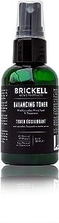 """Brickell Men""""s Products balancing toner für männer, natur- und bio-alkohol-free gurke, minze gesichtswasser mit hamamelis, 2 ounce, duftend"""