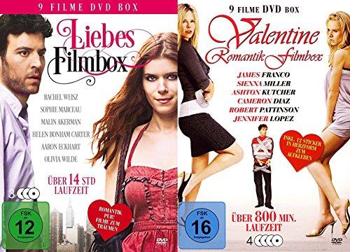 Valentinstag - 18 Liebesfilme Paket - Hollywood Romantik Klassiker - 28 Stunden DVD Limited Edition