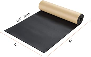 """NATGAI Sponge Neoprene with Adhesive Foam Rubber Sheet 1/8"""" Thick X 12"""" Wide X 54"""" Long, Cut to Multiple Dimensions and Lengths - DIY, Gaskets, Cosplay, Costume, Crafts"""
