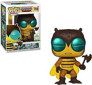 POP ¡Popular! Funko Masters of The Universe Buzz Off Funko ECCC (Etiqueta compartida)