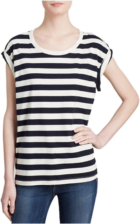 ESSENTIEL Women's Iboat TShirt Striped Blouse