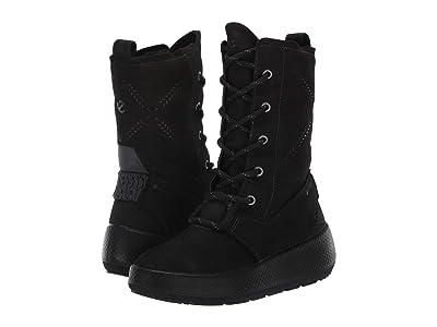 ECCO Sport Ukiuk 2.0 GORE-TEX(r) Lace Boot (Black/Black) Women
