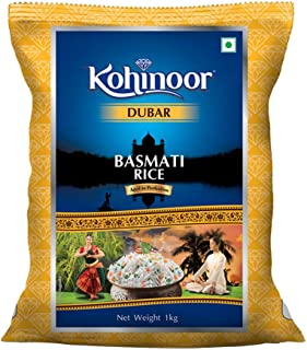 Kohinoor Dubar Authentic Basmati Rice, 1 kg Pack