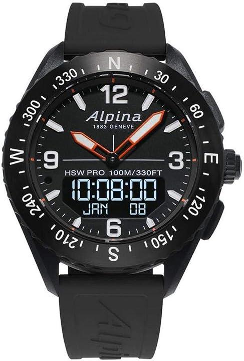 Orologio militare - alpina geneve alpinerx al-283lbb5aq6 smartwatch