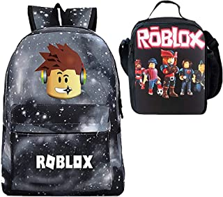 Kids Roblox Super Mario Insulated Lunch Food Bag School Snack Box Hand Bag Gift