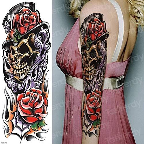 Handaxian 3pcs Tatuaje diseño Hombres y Mujeres Tatuaje mecánico ...