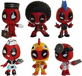 Funko Mystery Minis Vinyl Figures - Deadpool S1 - SET OF 6 (Carhop, Disco, Chicken Suit, Doctor +2)