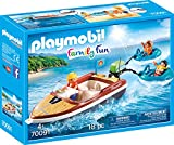 playmobil lancha family fun