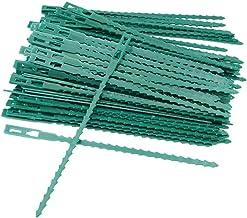 MINGZE 160 Stuks 17cm Bindbandje, Verstelbare Zacht Tuinplant Kabelbinders Plant Twist Banden Plastic Ondersteuning Wijnst...