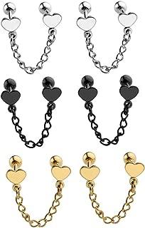 Best earrings for multiple holes Reviews