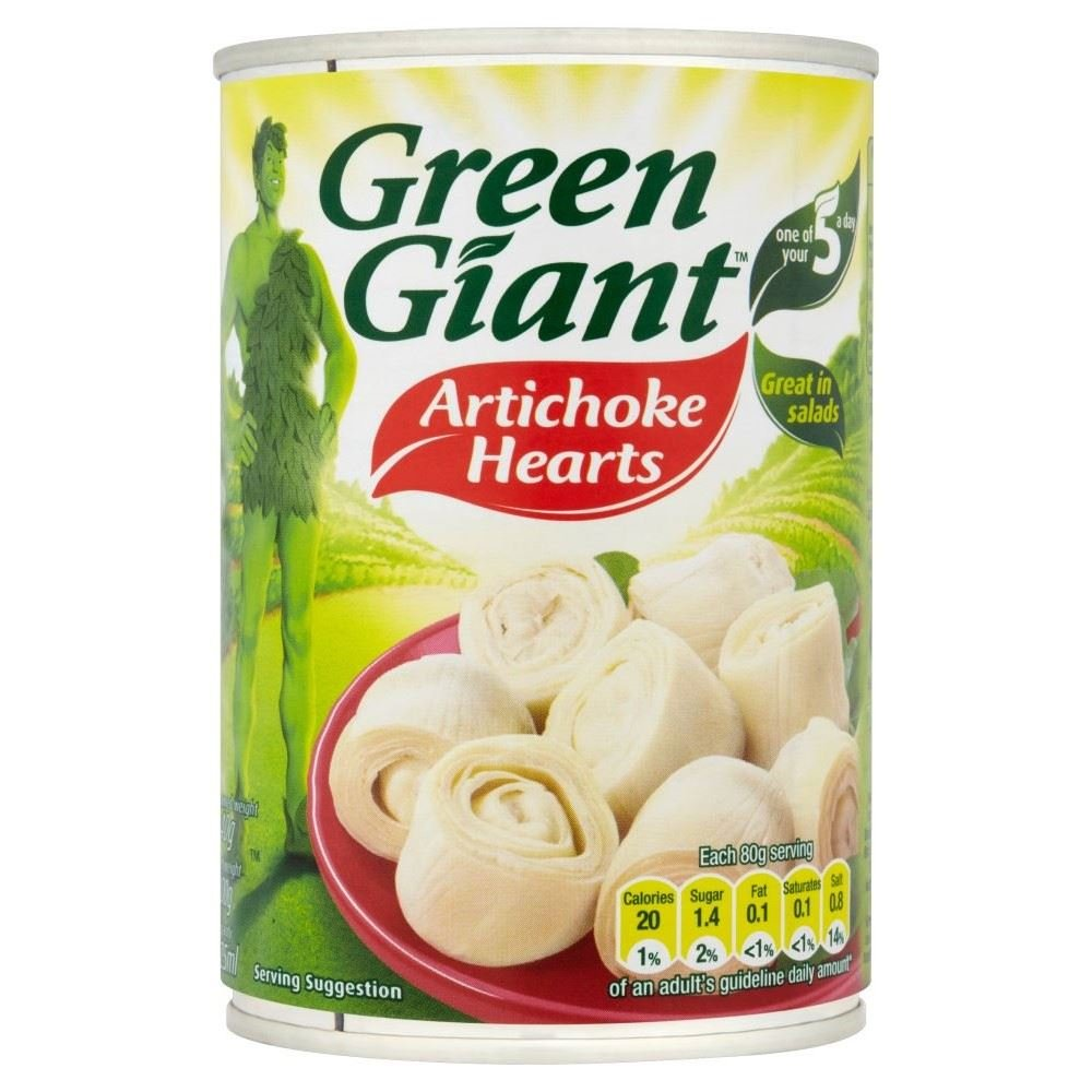 Max 52% OFF Green Giant Artichoke Hearts Manufacturer regenerated product 400g